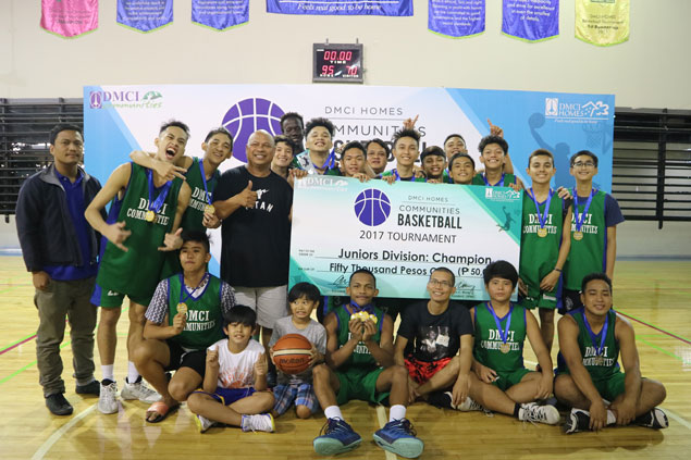 Pasig sweeps titles in seniors, juniors divisions of DMCI Homes' annual cagefest
