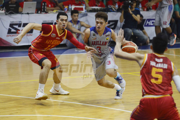Double whammy for Kent Salado after suffering cramps late in Arellano's home loss