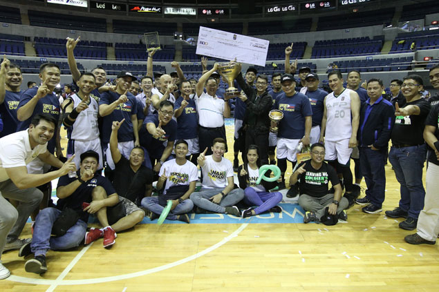 AFP Cavaliers beat PNP in OT to bag P1M prize as inaugural UNTV Executive Face-off champ