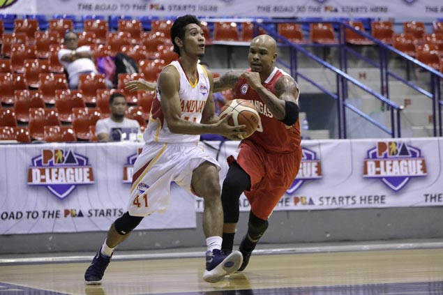 Von Tambeling finally finding groove with Tanduay, but admits he's not yet PBA-ready