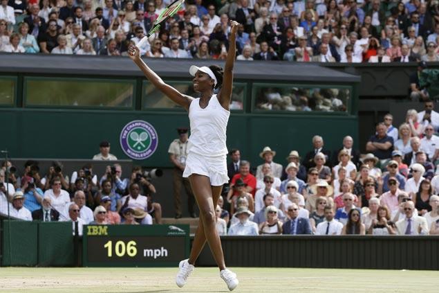 Venus Williams ousts Johanna Konta, books ninth trip to Wimbledon final to face Garbine Muguruza