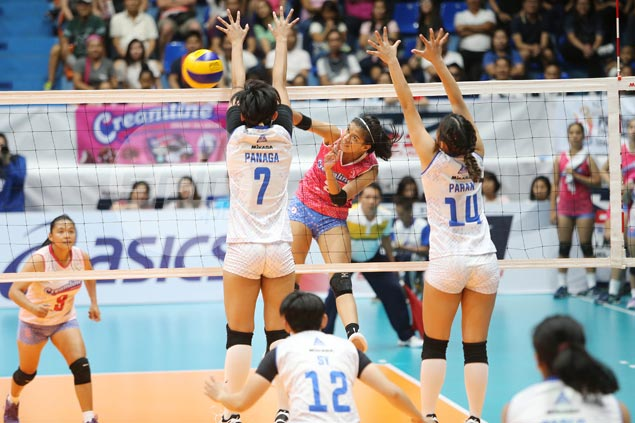 Creamline keeps slate unblemished, deals Pocari first loss in PVL Open