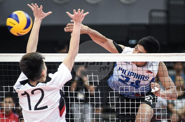 Greg Dolor shows way as Philippine volleyball team rips Macau in tuneup match