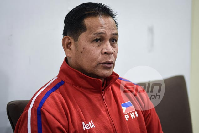 Acaylar glad to see improvement but seeks to push PH men's volley team more in Korea camp