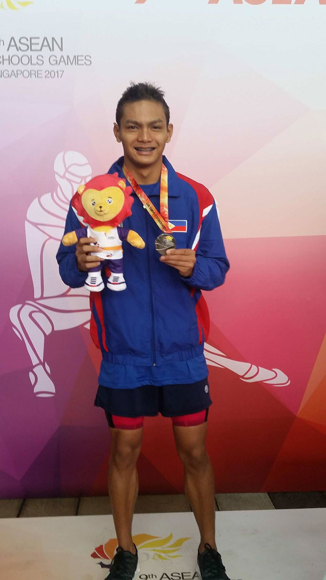 Palaro standout Maurice Sacho Ilustre sparks Team PH's flying start in 9th Asean Schools Games