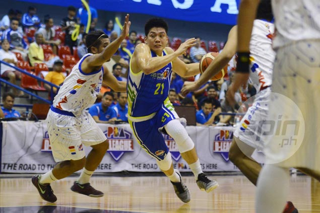 Flying V scoring machine Jeron Teng shows new-found versatility with rare D-League triple-double