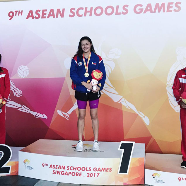 Ilustre, Newberry star anew as Filipino tankers spark gold rush in Asean Schools Games