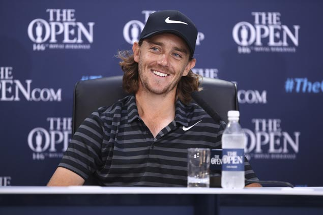 Pressure on for European Tour leader and local lad Tommy Fleetwood in The Open at Royal Birkdale