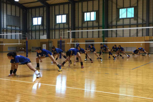 Japan training camp begins for PH women's volley team with scrimmage vs top club Okayama Seagulls