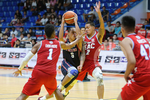 Knights overcome anemic start, late wobble to edge Generals for first win in NCAA 93