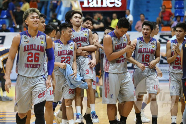 Arellano hero Kent Salado glad to make up for crucial flubbed freebies with game-winner in OT