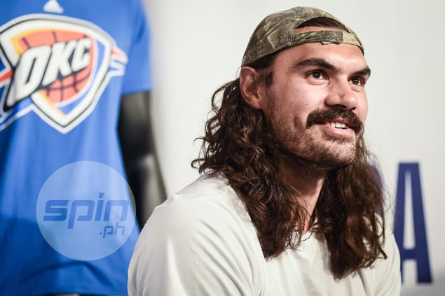 West arms race least of Steven Adams' worries as OKC center thrilled to team up with Paul George