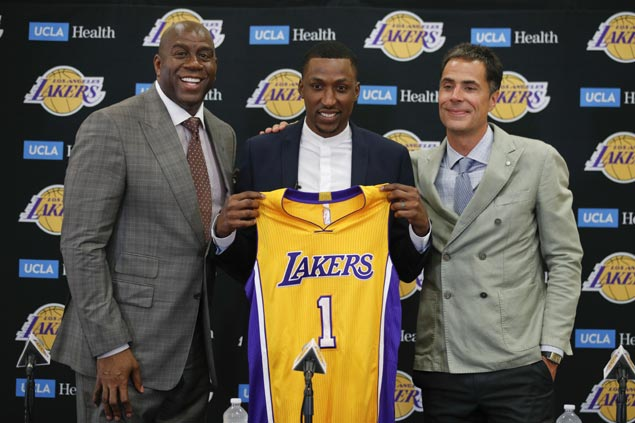 Magic Johnson sees better days ahead for new-look Lakers after summer league title, KCP signing