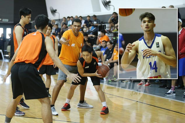 Sky's the limit for Kobe Paras but 'depends on how hard he's going to work for it,' says Reggie Theus