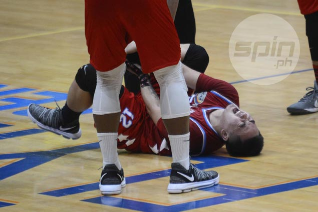 Skidding Generals breathe sigh of relief as Francis Munsayac says ankle injury nothing serious