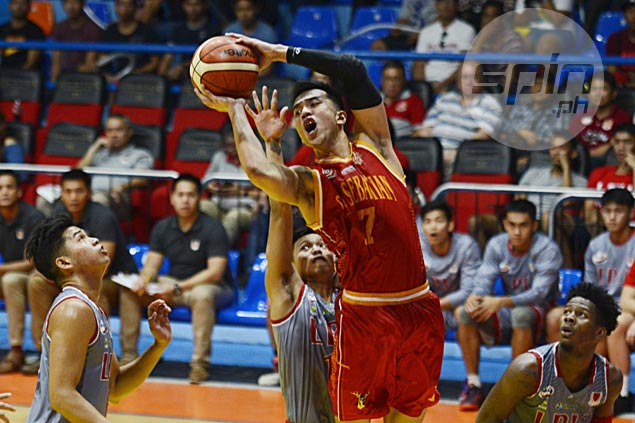 Egay Macaraya proud to see young Stags hang tough vs top teams San Beda, Lyceum
