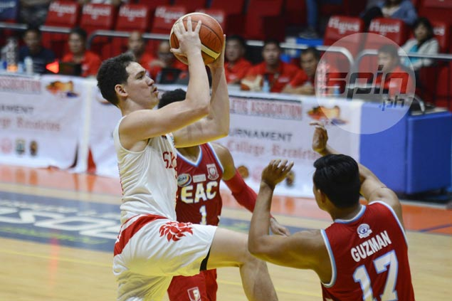 San Beda Red Lions make it back-to-back wins with romp over skidding EAC Generals