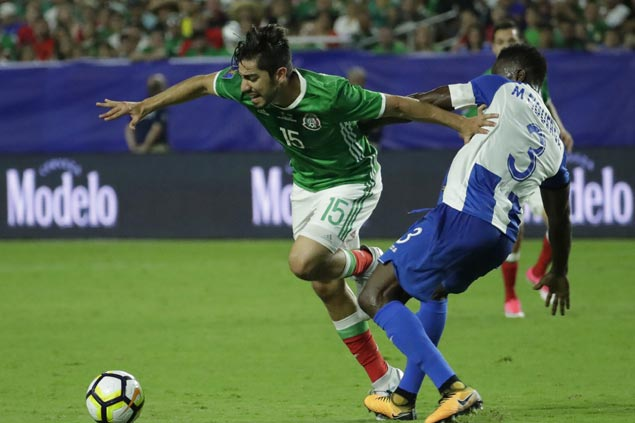 Rodolfo Pizarro nets early goal as Mexico downs Honduras to seal Gold Cup semis clash vs Jamaica