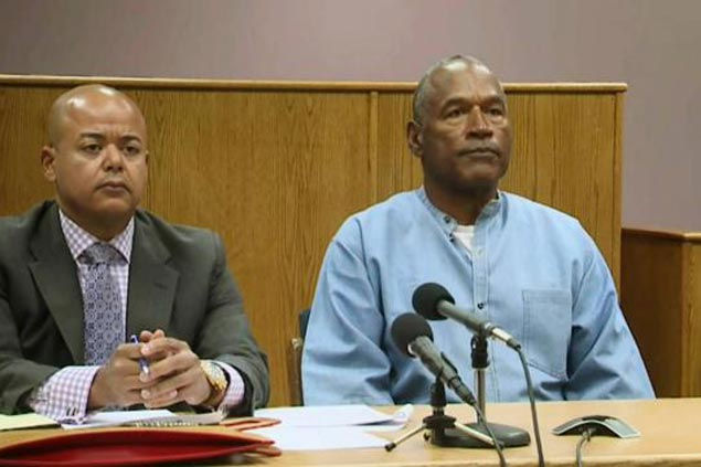 After more than eight years in jail for Nevada robbery, ex-NFL star OJ Simpson granted parole