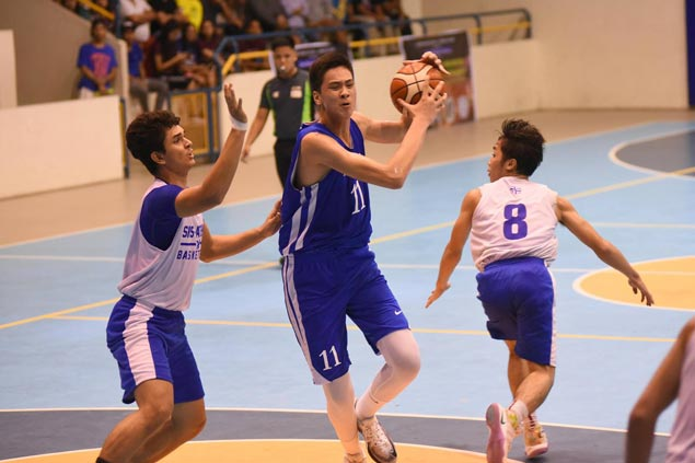 Ateneo Blue Eaglets battle unbeaten Colegio de Sta. Ana dela Victorias in final of Cebu invitational