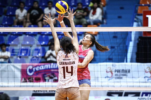 Creamline overcomes gutsy UP effort to stay unscathed, tighten grip on PVL Open lead