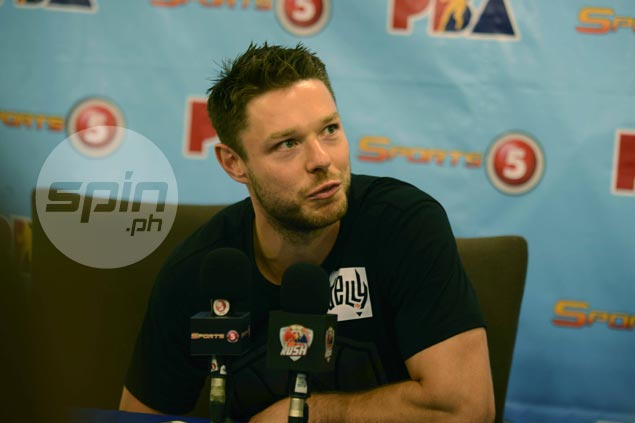 Not shy from rough play, Matthew Dellavedova says PBA 'a lot more physical' than the NBA