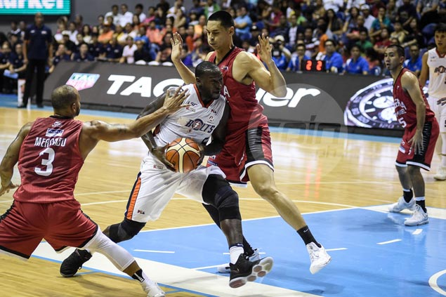 Allen Durham flirts with triple-double as Meralco gains measure of vengeance against Ginebra