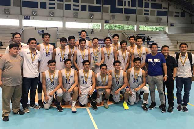 Ateneo Blue Eaglets ripColegio de Sta. Ana de Victorias to top Cebu Invitational