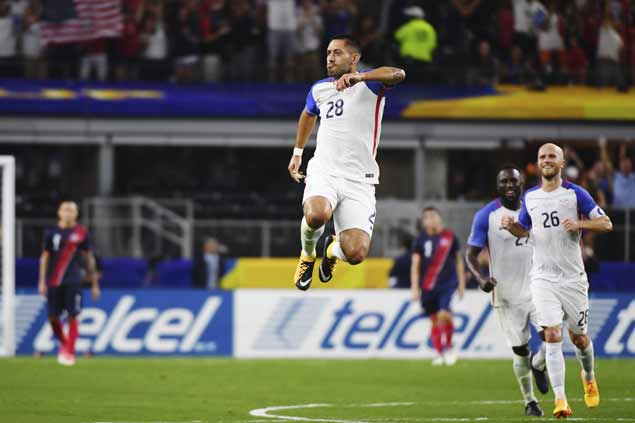 Clint Dempsey matches Landon Donovan scoring record to lift US past Costa Rica and into final