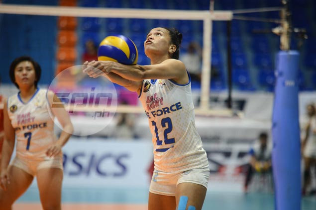 Air Force overcomes Power Smashers in five to secure at least a playoff for semis spot