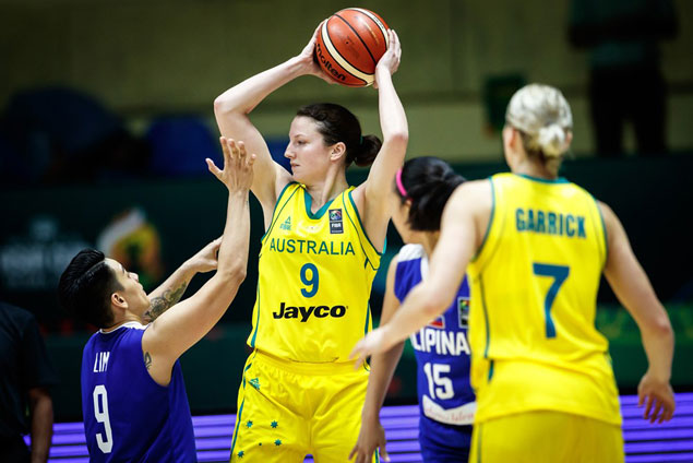 WNBA-laden Australian team deals Perlas Pilipinas second straight loss in FIBA Asia Cup