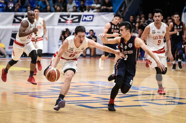 San Beda workhorse Robert Bolick admits extra motivation in facing top cagers like Rey Nambatac