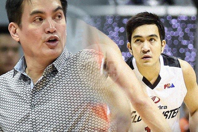 Ryan Arana on college mentor Franz Pumaren: 'Medyo bumait na si coach ngayon'