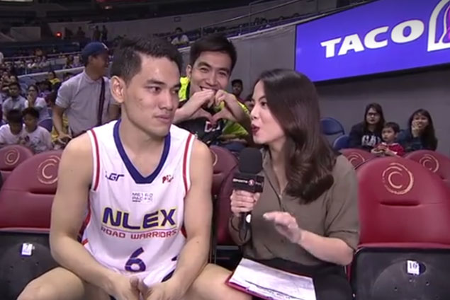 Meet the TV courtside reporter who is a source of inspiration for rising star Kevin Alas