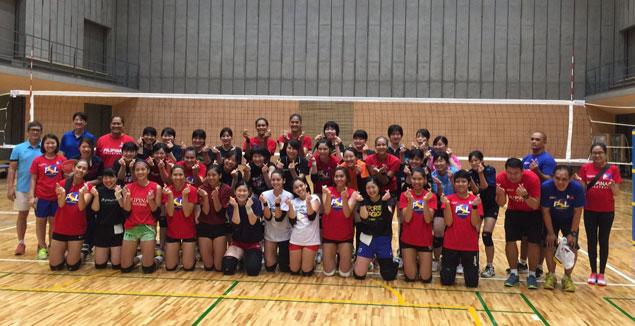 Philippine volleyball team begins Osaka phase of training with tough stand vs Ryukoku U