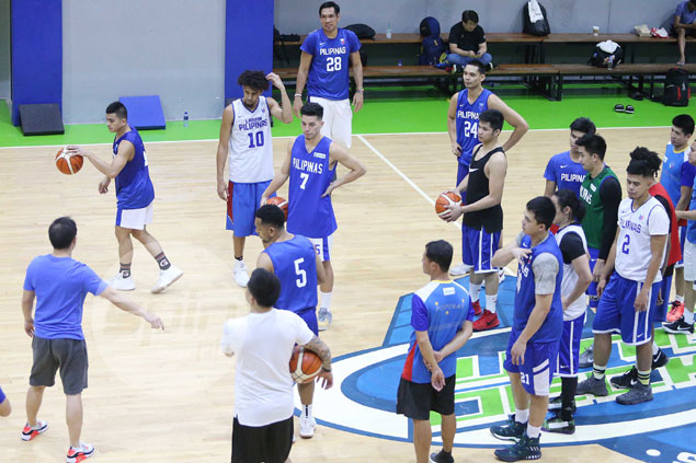 Castro, Fajardo, Romeo, Aguilar buckle down to work as Gilas begins Fiba Asia buildup