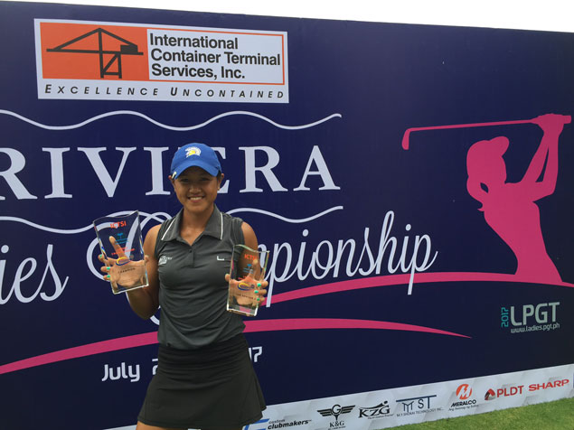 Amateur golf star Abby Arevalo eclipses pros with closing birdie at Riviera