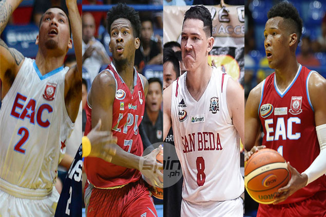 Robert Bolick, CJ Perez still a cut above rest on a storm-ravaged week in NCAA