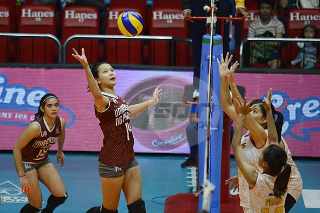 UP Lady Maroons beat Power Smashers to end PVL Open stint on a winning note