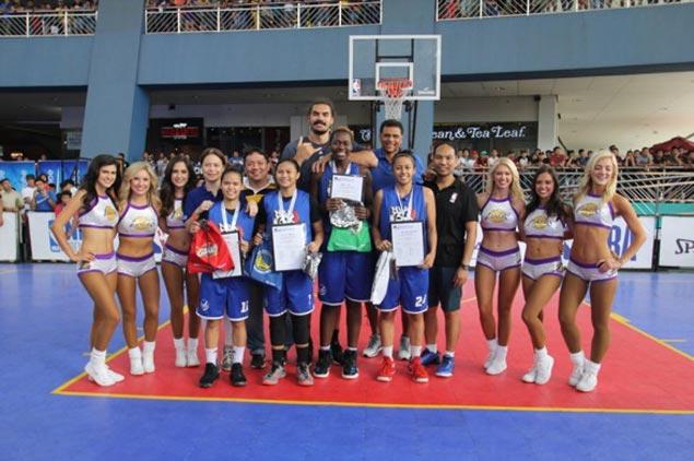 NU Lady Bulldogs-A, Team Rocan lead winners in NBA 3X Philippines 2017