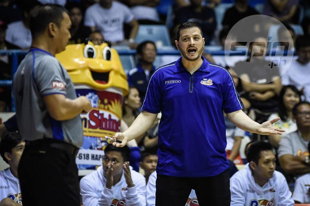 Caloy Garcia rues E-Painters' second half collapse vs Bolts: 'We don't win the game in the first half'