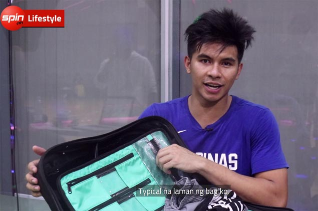 What's in the Bag series: Kiefer Ravena gears up with bigger bag for grinding Gilas practice