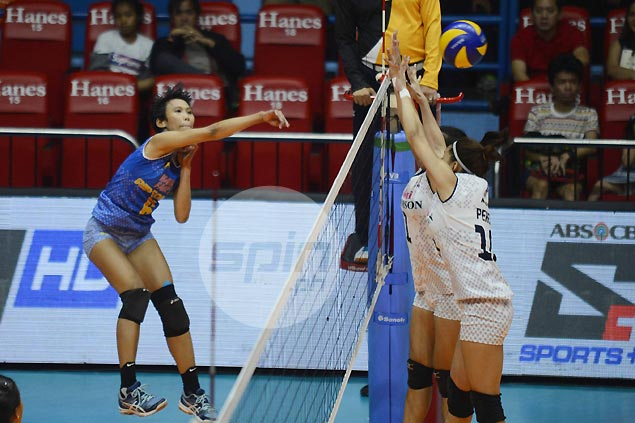 Air Force cruises past Adamson Lady Falcons to secure semis spot in PVL Open