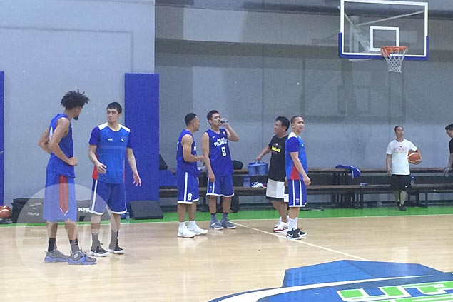 Nine days left before Fiba Asia Cup and Gilas yet to practice with a complete squad
