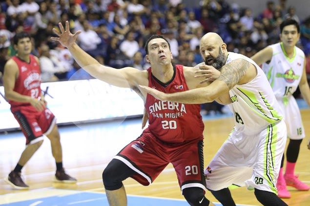 Greg Slaughter believes Ginebra now has a better grasp of triangle offense