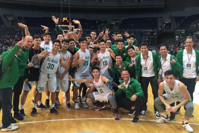 La Salle Green Archers rule Taipei collegiate tournament via five-game sweep