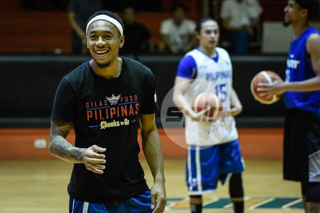 Gilas finally complete for Fiba Asia practice as Calvin Abueva shows up as promised