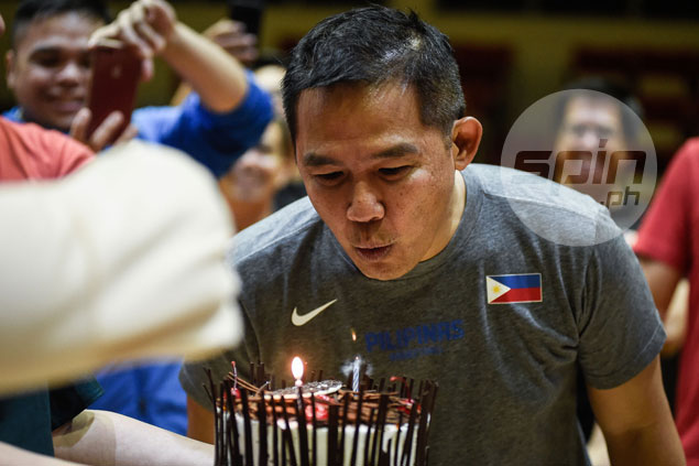 Birthday-boy Chot Reyes wishes Gilas has luxury of time to prepare for Fiba Asia Cup