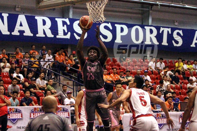 Rod Ebondo takes charge as CEU turns back Racal to complete Foundation Cup playoff cast
