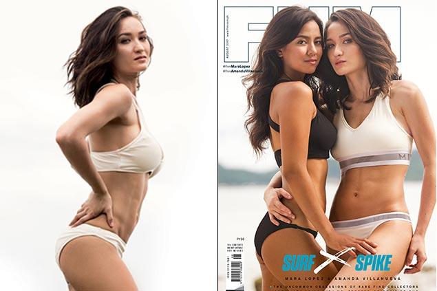 Spiker Amanda Villanueva drives home a point in FHM cover: strong women are sexy